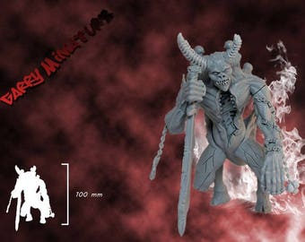 Soul Collector Daemon 90mm resin figure by Garry Miniatures