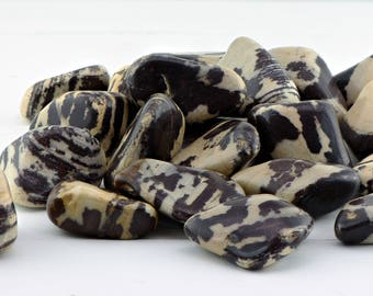 Nguni Jasper Polished Stone - Stone of Wild Nature & Unpredictability