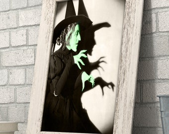 Wizard of OZ Wicked Witch of the West Art Print - 11x14 Unframed Patent Print - Great Gift for Fans of The Wizard of Oz