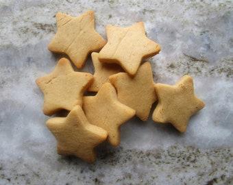 Star Shaped Peanut Butter Dog Treats