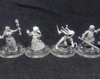 Darkest Dungeon 32mm miniatures set 1.0