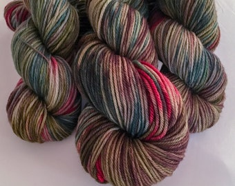 Her King's Love | inspired by Nakia's Infinity Scarf | Worsted merino wool