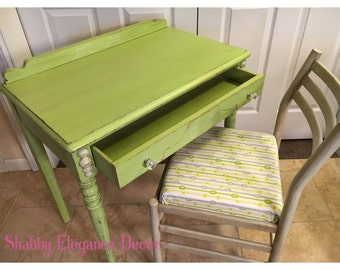 SOLD! Writing desk and chair for local pick up only, sold locally