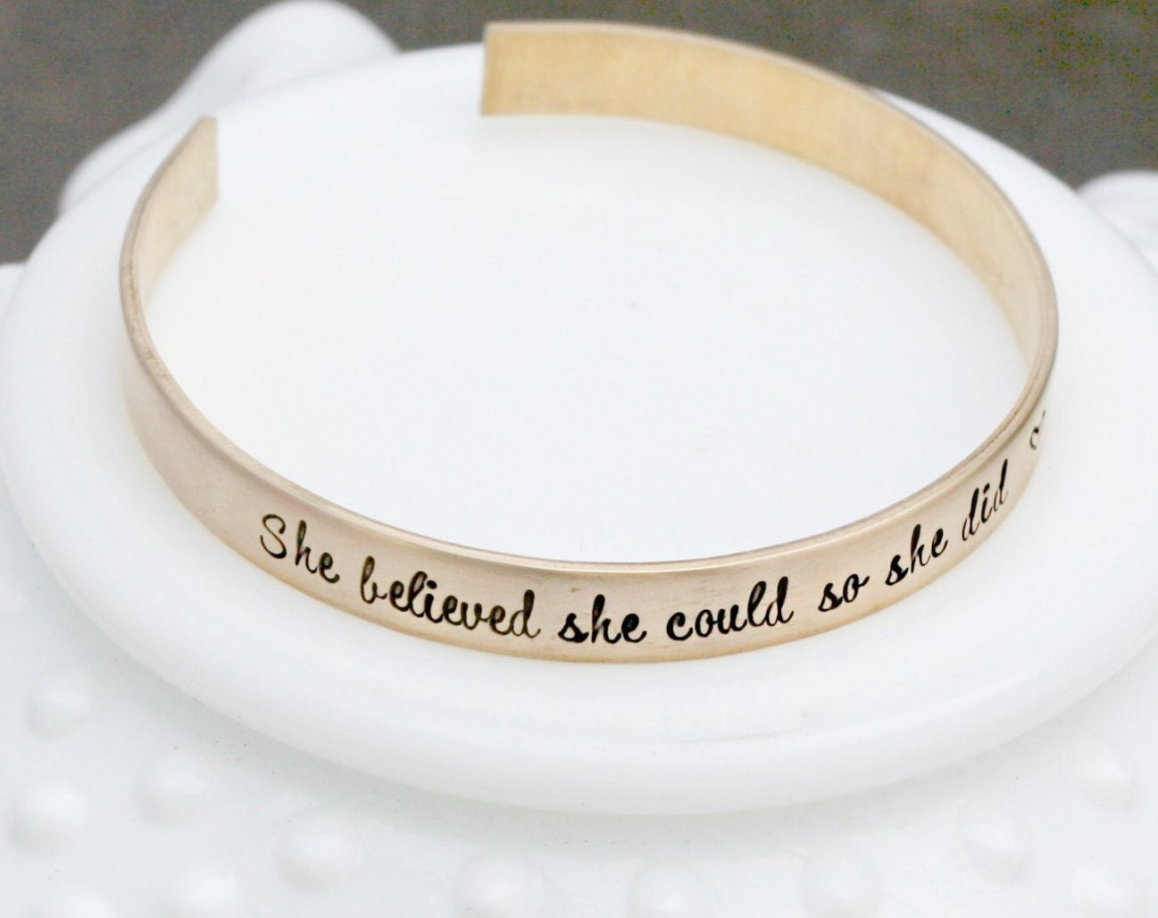 il cuff fullxfull quote bracelet gold zoom listing saying inspirational message