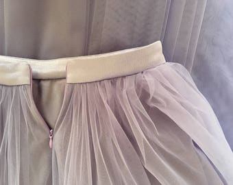 Tulle Maxi skirt,Lavender Full Length Skirt,Floor length,Extra Full Lilac Wedding Tulle Skirt,Tutu, Bridesmaid dress,Liliac Long Tulle skirt