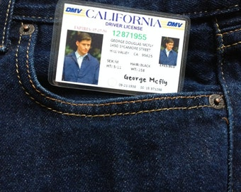 George McFly Novelty ID Back To The Future Replica Prop