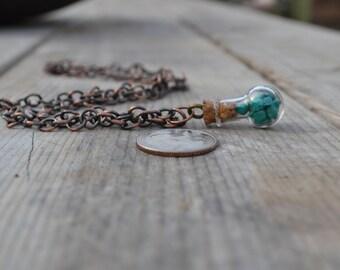 Turquoise  Throat Chakra Charm