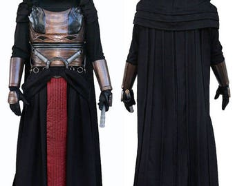 Darth Revan - Full Costume - Inspired by Star Wars: Knights of the Old Republic - Custom Prop Repica Costume