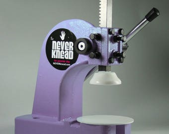 Lilac Purple NEVERknead Polymer Clay Conditioning Machine Tool - Kneads All Poly Clay Sculpey Premo Fimo Kato - Smooths Hard Clay - Pavelka