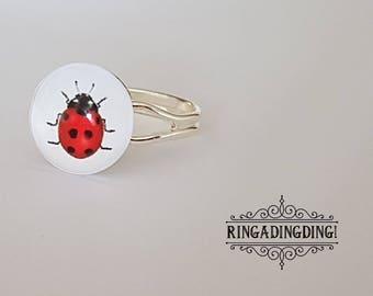 Pretty Lady Bird/Bug Ring