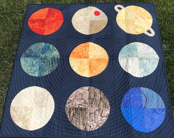 Planets Quilt  *free shipping*