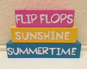 Summertime block set