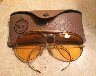 Ray Ban Ambermatic Vintage Sunglasses