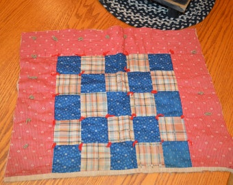 farmhouse, rustic, primitive, country, cottage chic, shabby chic, vintage 1800's quilt cutter piece for crafting
