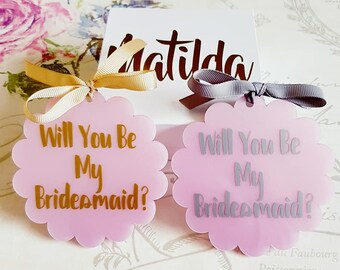 Will You Be My Bridesmaid, Bridesmaid Box, Bridesmaid Gift, Wedding Invitation, Bridesmaid Invitation, Flower Girl, Flower, Proposal, Box