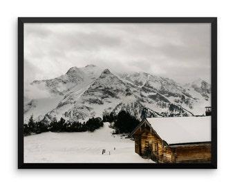 Austrian Alps Print