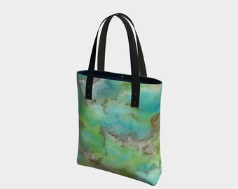 Turquoise 4,purse,bag,tote,hand painted,designer,makeup,bags,cases,suitcase,vegan leather,luggage,baby