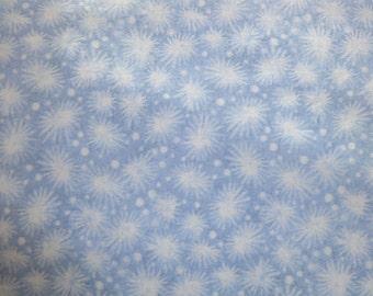 Blank Quilting Light Blue Star Bursts Fabric  27