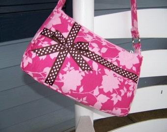Small Easy Zipper Handbag Pdf Pattern Tutorial with Immediate download e-file