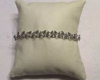 Bracelet 2-1 Chainmaille HANDMADE WITH LOVE