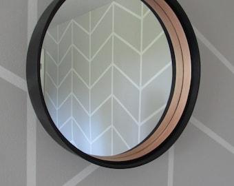 22' Maple Mirror w/Black Stain on Outside