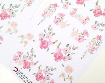 November floral | Stickers | Decor