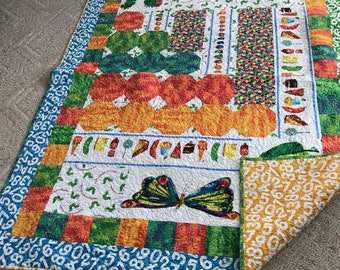Very Hungry Caterpillar Quilt
