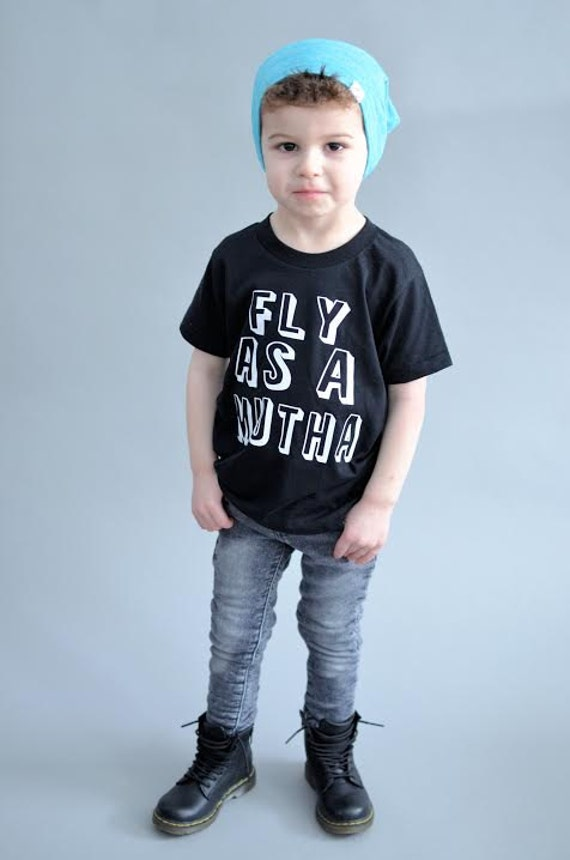Fly Guy Shirt Fly As A Mutha Toddler Boy Clothes Funny Boy