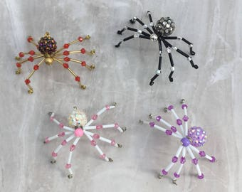 Christmas Spider, Traditional folklore spider, Christmas tree decoration, Christmas ornament, Christmas gift, beaded spider