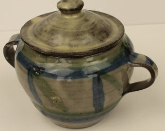 Little Pottery Lidded Container