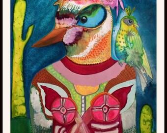 A Bird In Mexico