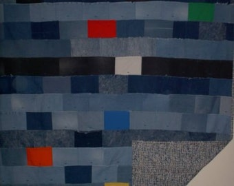 Denim Full-size Quilt