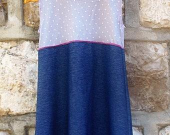 Mi Amor this it a gypsy dress comfy dress  play dress