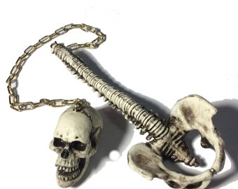 Skull and Spine Fidget Ball and Cup toy