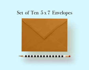 5x7 Copper Envelopes, A7 Copper Envelopes, Copper Envelopes 5 x 7, Copper Envelopes 5x7, Copper Envelopes A7