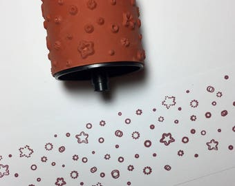 Stampin Around Wheel Stars and Dots by Stampin Up