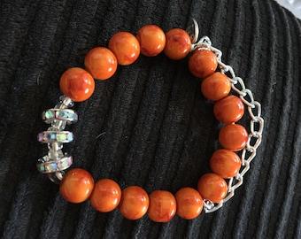 Orange Summer Bracelet