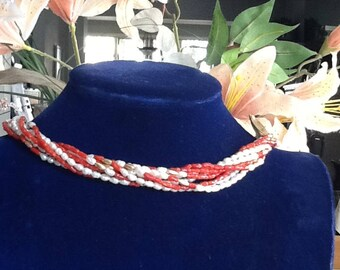 Coral & Freshwater Pearl Strands