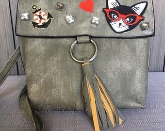 Handbag cool cat