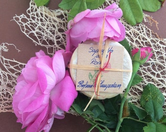 SOAP with rose, decorative
