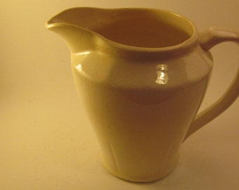 Medalta Pottery Milk or Cream Pitcher