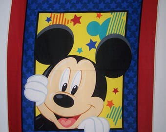 Disney's Mickey Out To Play With Coordinating Fabric