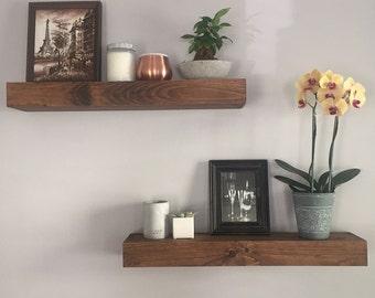 Floating Shelves - Shelves - Bathroom Shelf - Kitchen Shelf - Wood Shelf - Wall Shelves - Home Decor - Floating Shelf - Modern Shelf - Shelf