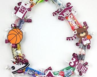 Custom Basketball Leis