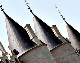 Canvas Print, The Paris Streets View, Large Wall Art, Paris Photography Photo, French Home Decor, French Paris Architecture, Travel Photo