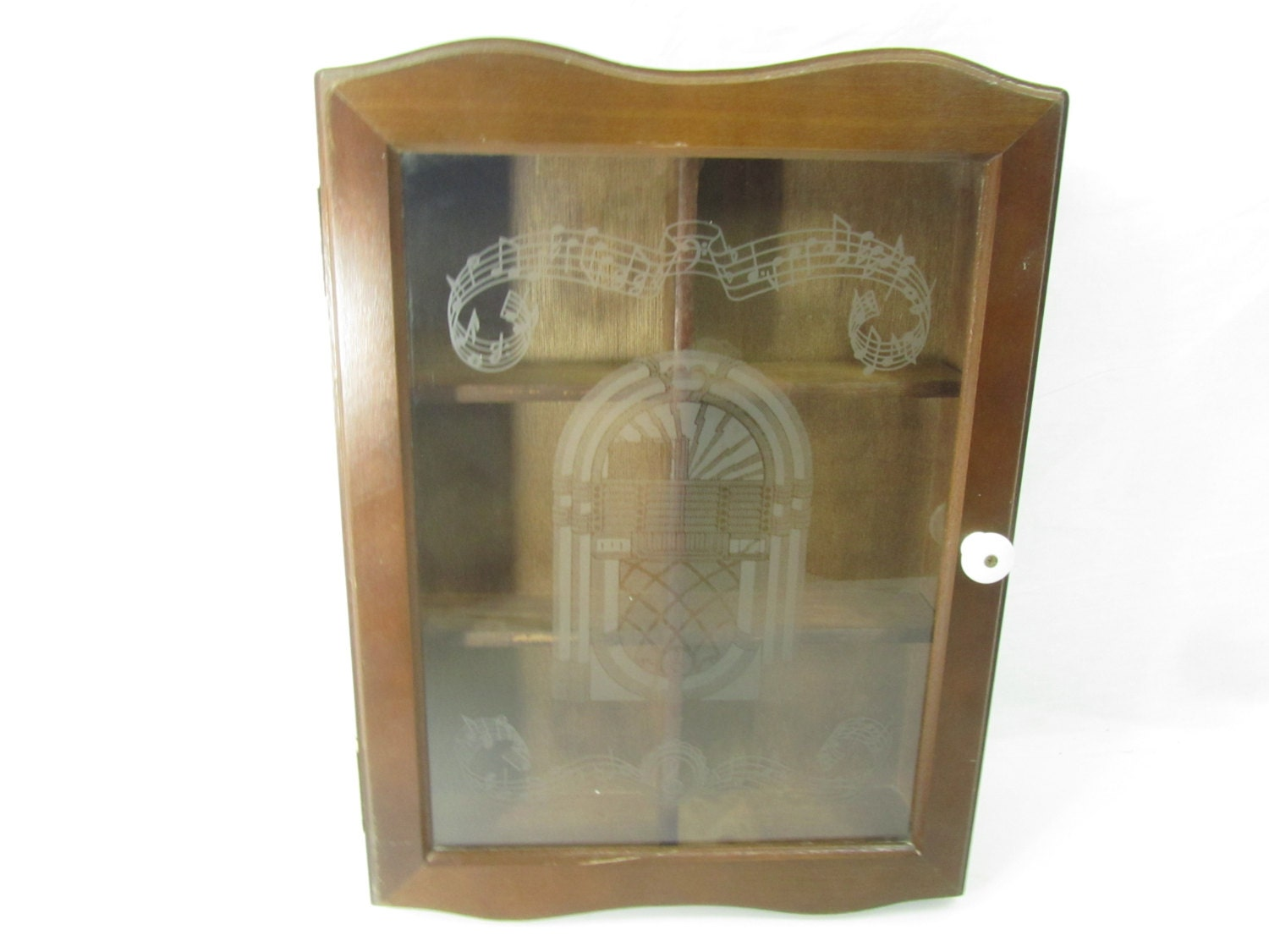 Curio Cabinet Wood Wall Cabinet Glass Door Cabinet Storage