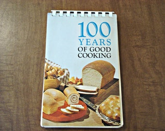 100 Years Of Good Cooking Cook Book 1950s Cookbook Minnesota Centennial Cookbook, Vintage Cookbook, Minnesota Cookbook 100 Recipes.