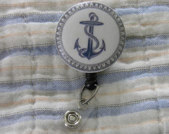 Anchor Badge Reel, ID Holder