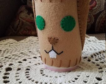 Cup Cozy - Latte Bunny