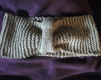 PURE COTTON HEADBAND, khaki, olive green, earwarmer